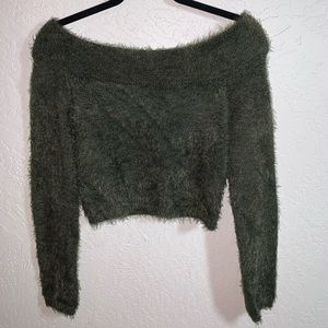 Fury off the shoulder sweater